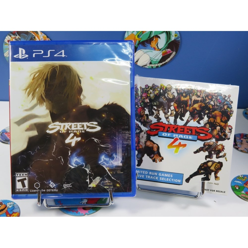STREETS OF RAGE 4 PS4 US NEW