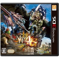 MONSTER HUNTER 4G 3DS JPN OCC