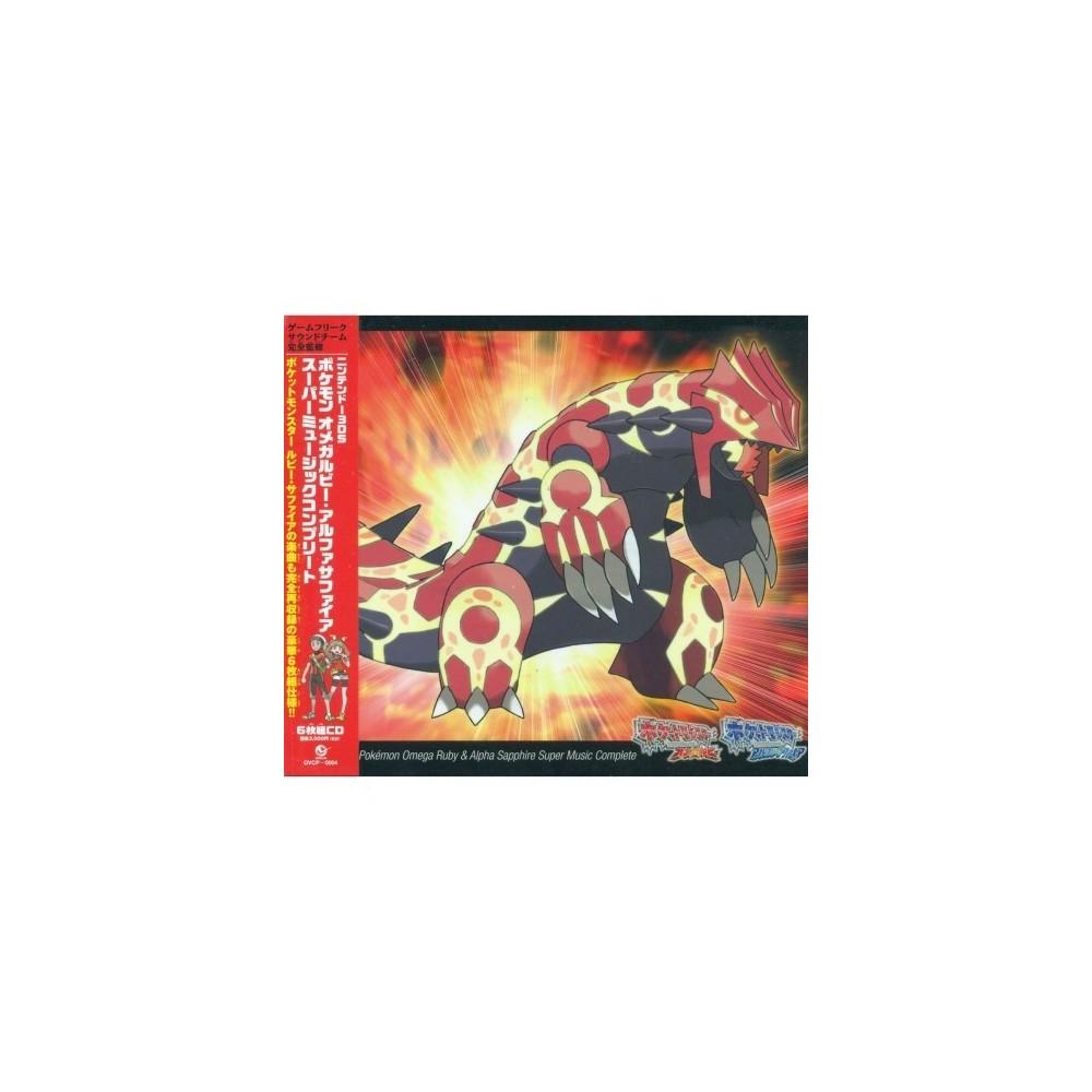 NINTENDO 3DS POKEMON OMEGA RUBIS & ALPHA SUPER MUSIC COMPLETE OCCASION