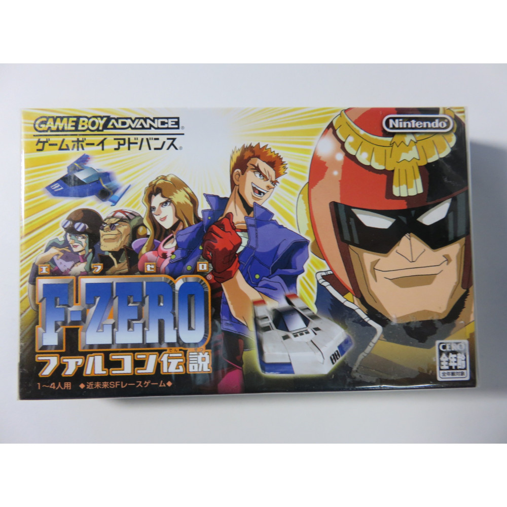 F-ZERO FALCON DENSETSU (F-ZERO3) GAMEBOY ADVANCE NTSC-JPN (BRAND NEW) GBA-NINTENDO