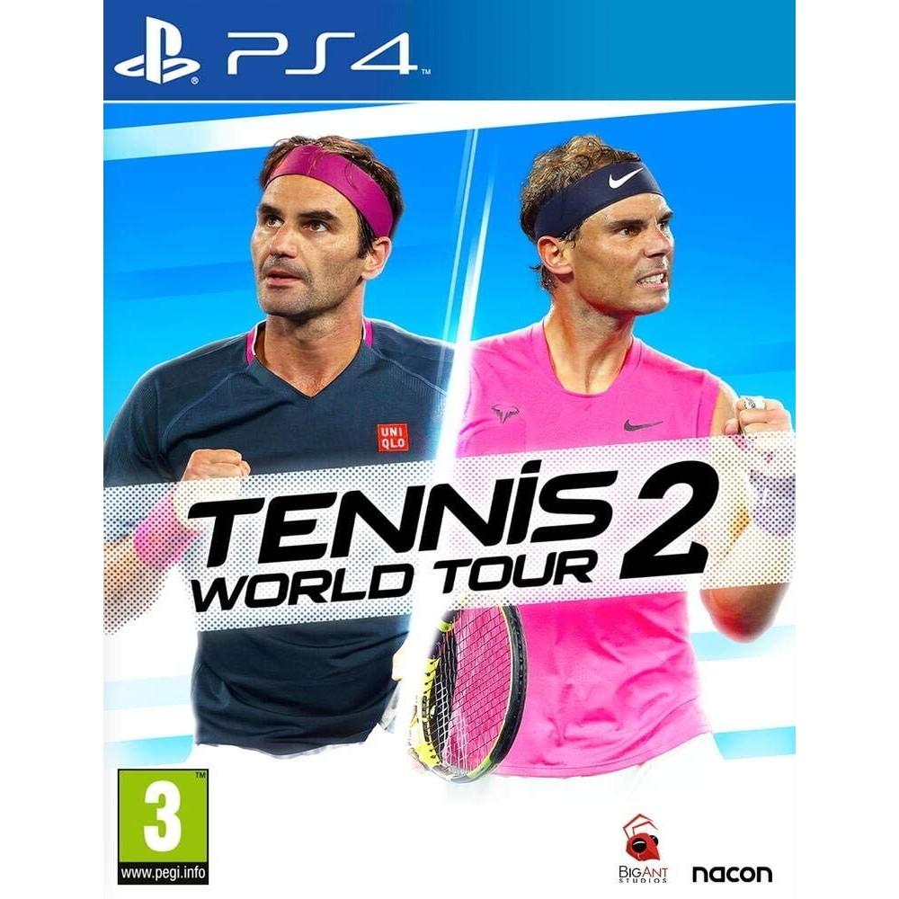 TENNIS WORLD TOUR 2 PS4 FR NEW