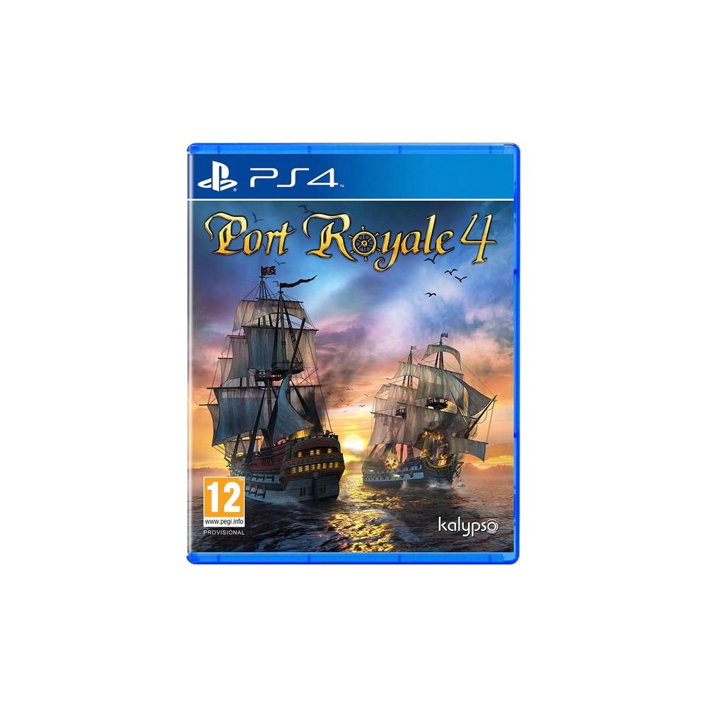 PORT ROYALE 4 - PS4 FR