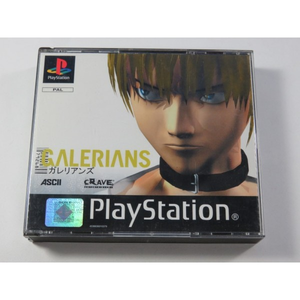 GALERIANS SONY PLAYSTATION 1 (PS1) PAL-FR (COMPLET - GOOD CONDITION) (SURVIVAL HORROR)
