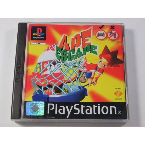 APE ESCAPE SONY PLAYSTATION 1 (PS1) PAL-FR (COMPLET - GOOD CONDITION)