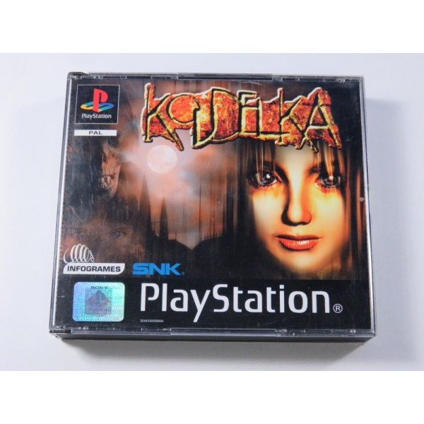 KOUDELKA SONY PLAYSTATION 1 (PS1) PAL-FR (SANS NOTICE - GOOD CONDITION) (RPG)