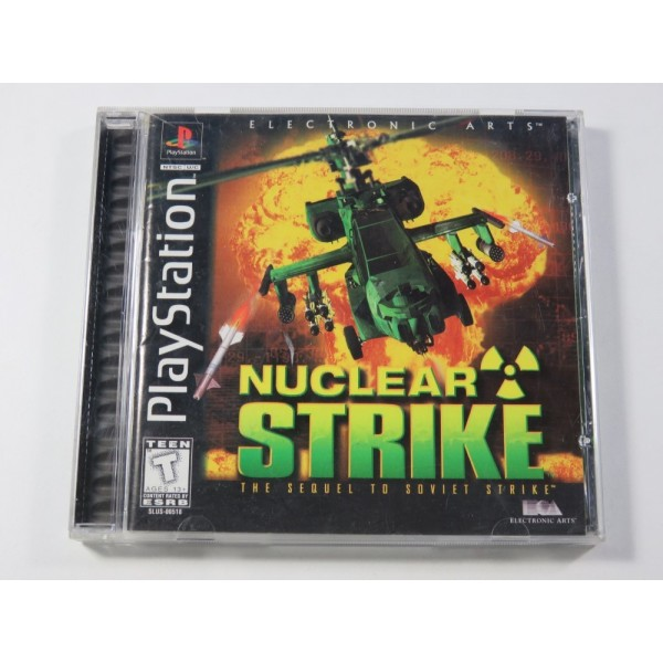 NUCLEAR STRIKE SONY PLAYSTATION 1 (PS1) NTSC-USA (COMPLET - GOOD CONDITION) (WITH REG. CARD)