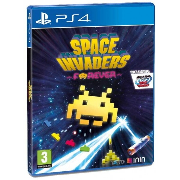 SPACE INVADERS FOREVER - PS4 FR Preorder