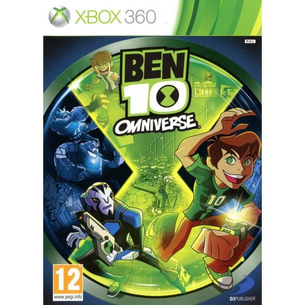 BEN 10 OMNIVERSE XBOX 360 PAL-FR OCCASION