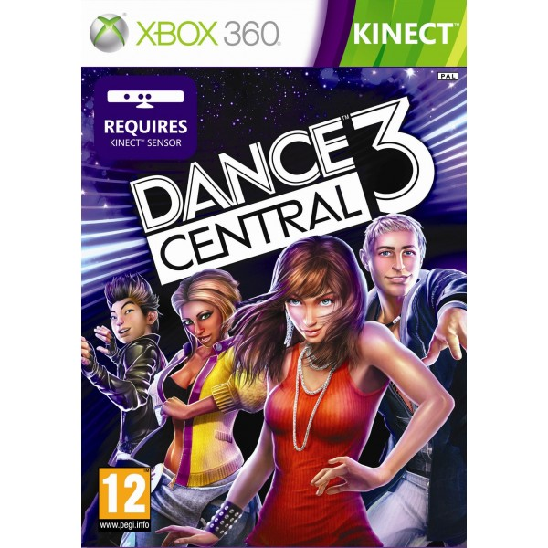 DANCE CENTRAL 3 XBOX 360 PAL-FR OCCASION