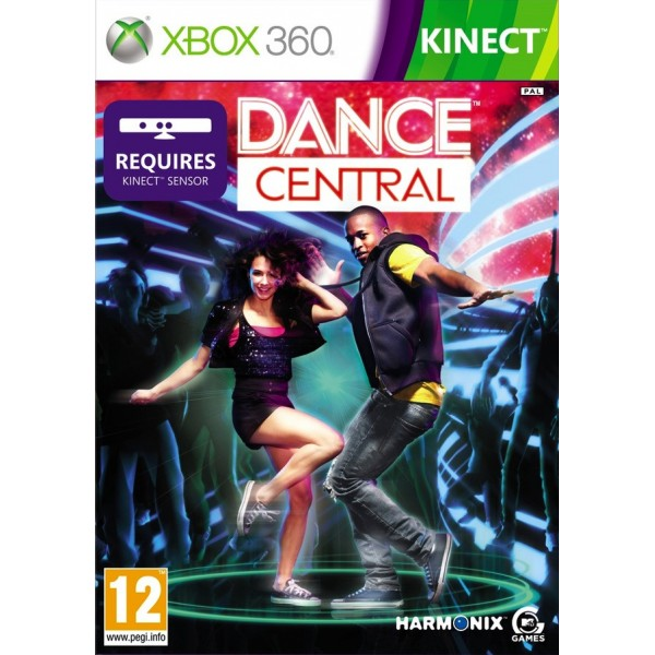 DANCE CENTRAL XBOX 360 PAL-FR OCCASION