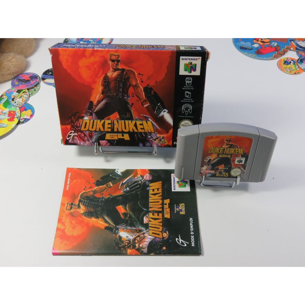 DUKE NUKEM 64 NINTENDO 64 PAL-FRA (COMPLET - GOOD CONDITION)