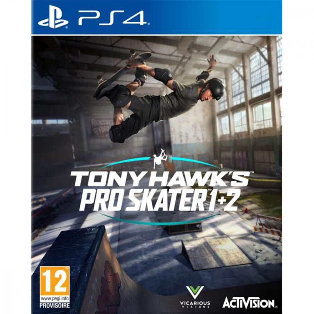 TONY HAWK S PRO SKATER 1 + 2 PS4 FR OCCASION