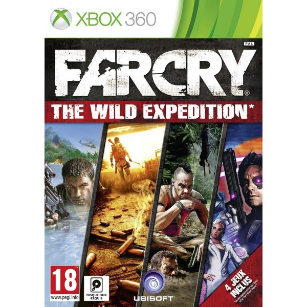 FAR CRY WILD EXPEDITION XBOX 360 PAL-FR OCCASION