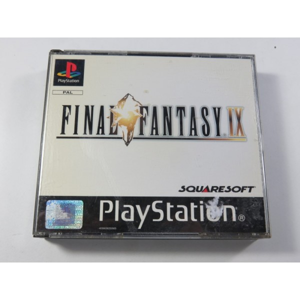 FINAL FANTASY IX SONY PLAYSTATION 1 (PS1) PAL-FR (COMPLET - SQUARESOFT RPG)