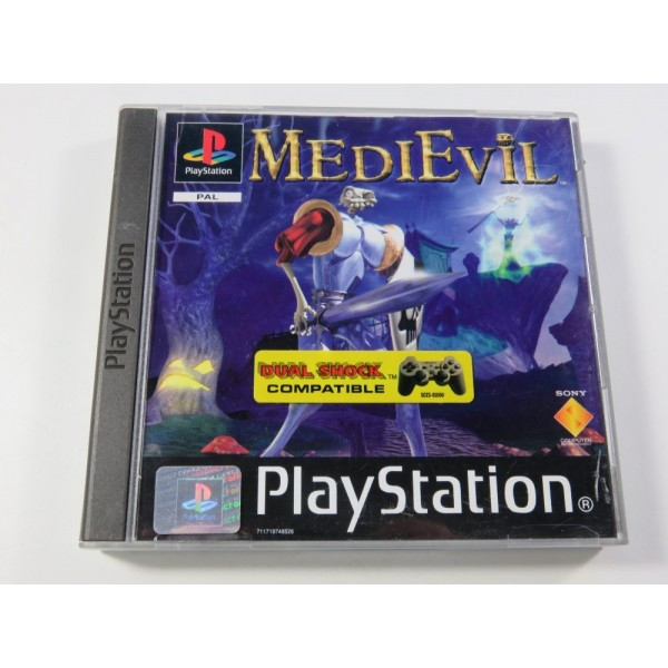 MEDIEVIL SONY PLAYSTATION 1 (PS1) PAL-FR (COMPLET - GOOD CONDITION) (AVEC CD DEMO)