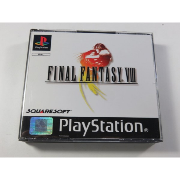 FINAL FANTASY VIII SONY PLAYSTATION 1 (PS1) PAL-FR (COMPLET - VERY GOOD CONDITION) (SQUARESOFT - MINT)