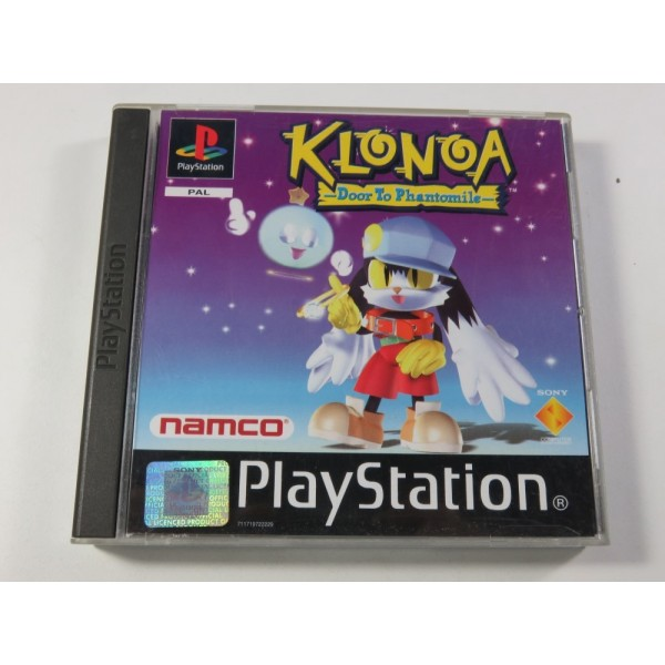 KLONOA - DOOR TO PHANTOMILE SONY PLAYSTATION 1 (PS1) PAL-FR (COMPLET - GOOD CONDITION) (SANS CD DEMO)