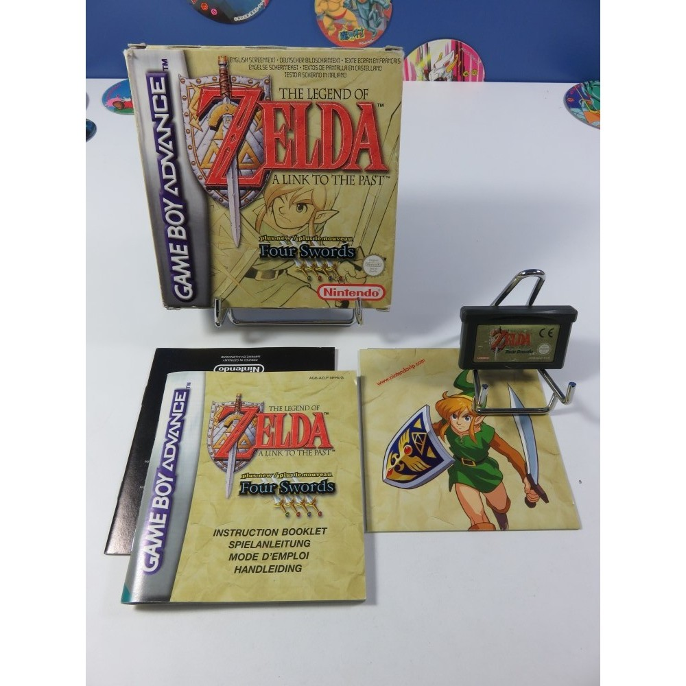 THE LEGEND OF ZELDA - A LINK TO THE PAST (ZELDA III) GAMEBOY ADVANCE (GBA) NEU6 (COMPLET - GOOD CONDITION)