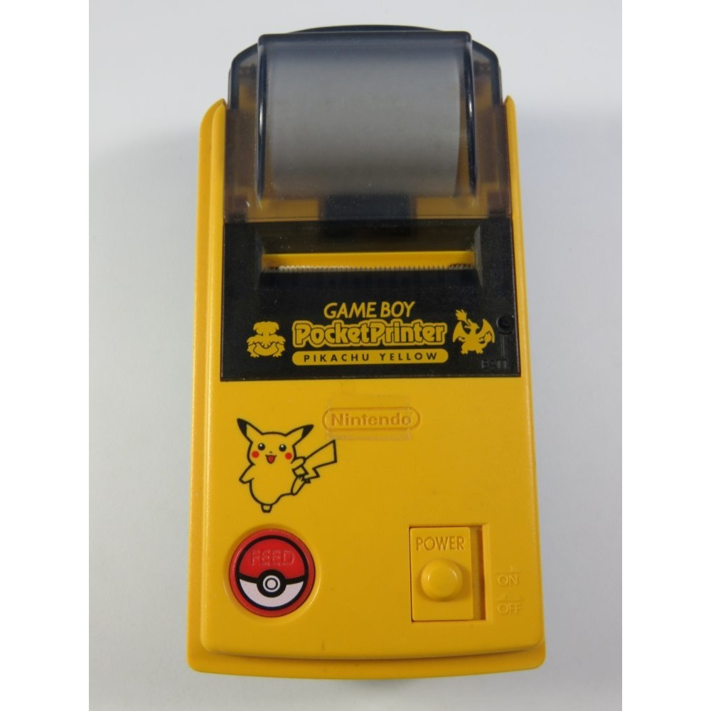 GAMEBOY POCKET PRINTER PIKACHU YELLOW JAPAN EDITION (GOOD CONDITION) POKEMON NINTENDO