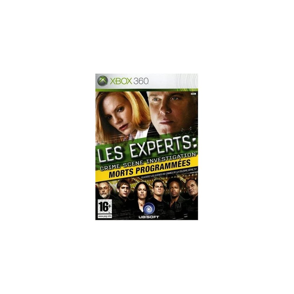LES EXPERTS MORTS PROGRAMMEES XBOX 360 PAL-FR OCCASION
