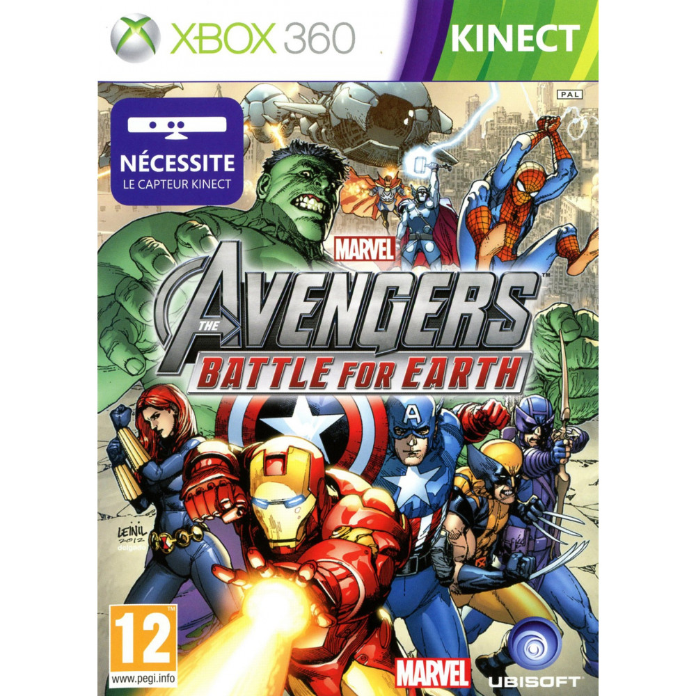 MARVEL AVENGERS : BATTLE FOR EARTH (KINECT) XBOX 360 PAL-FR OCCASION