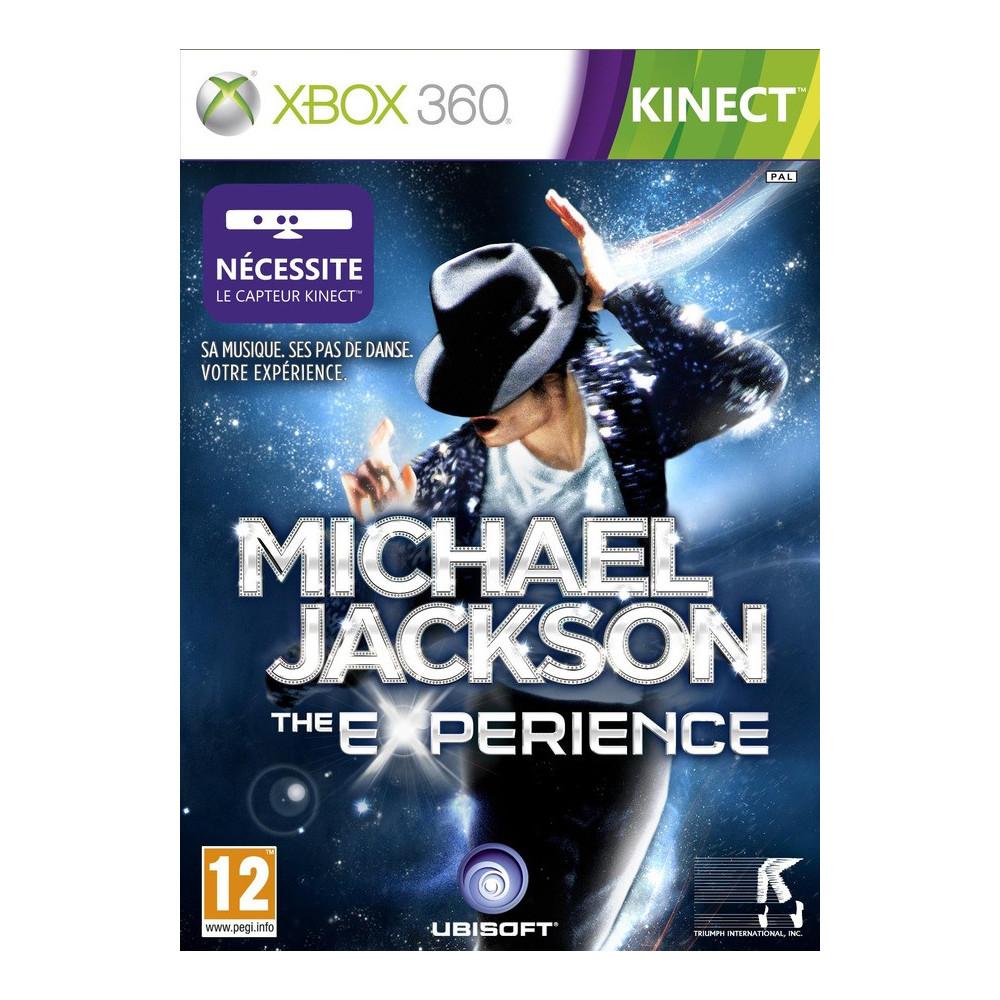 MICHAEL JACKSON KINECT XBOX 360 PAL-FR OCCASION