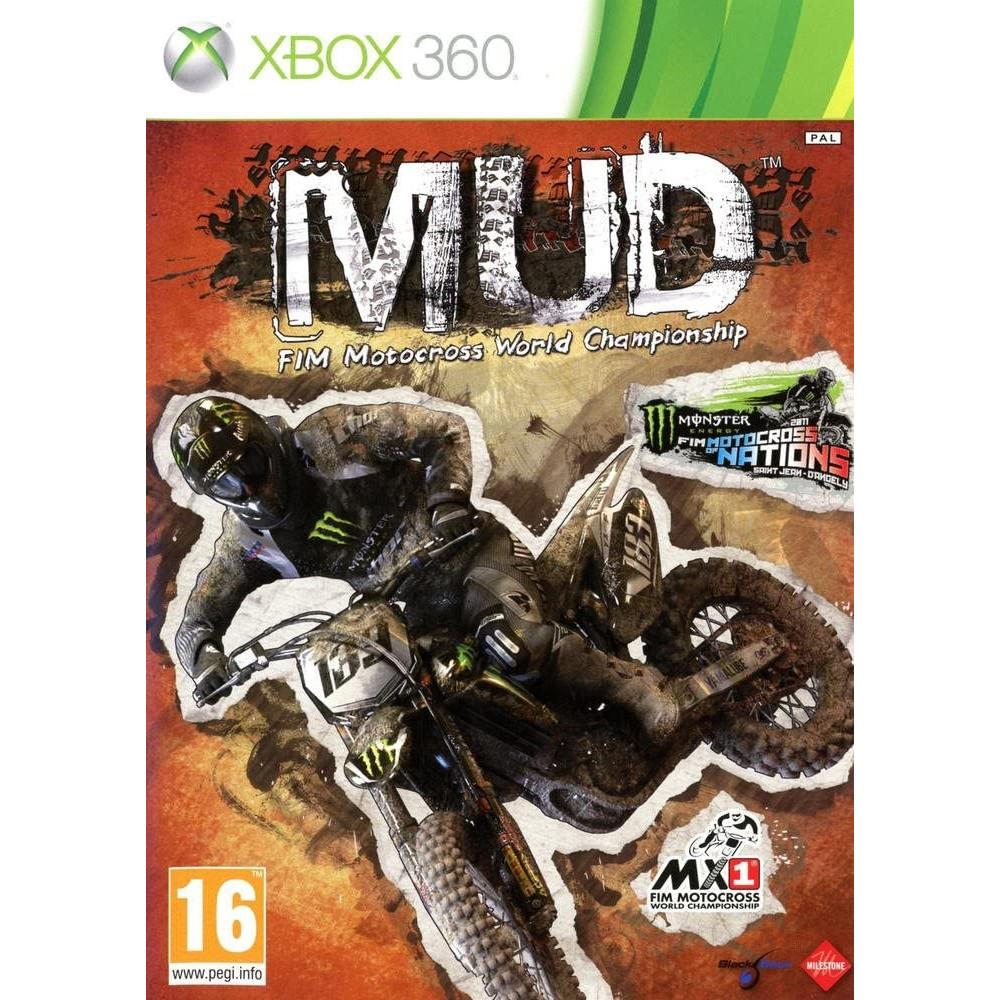 MUD:MOTOCROSS CHAMPIONSHIP XBOX 360 PAL-FR OCCASION