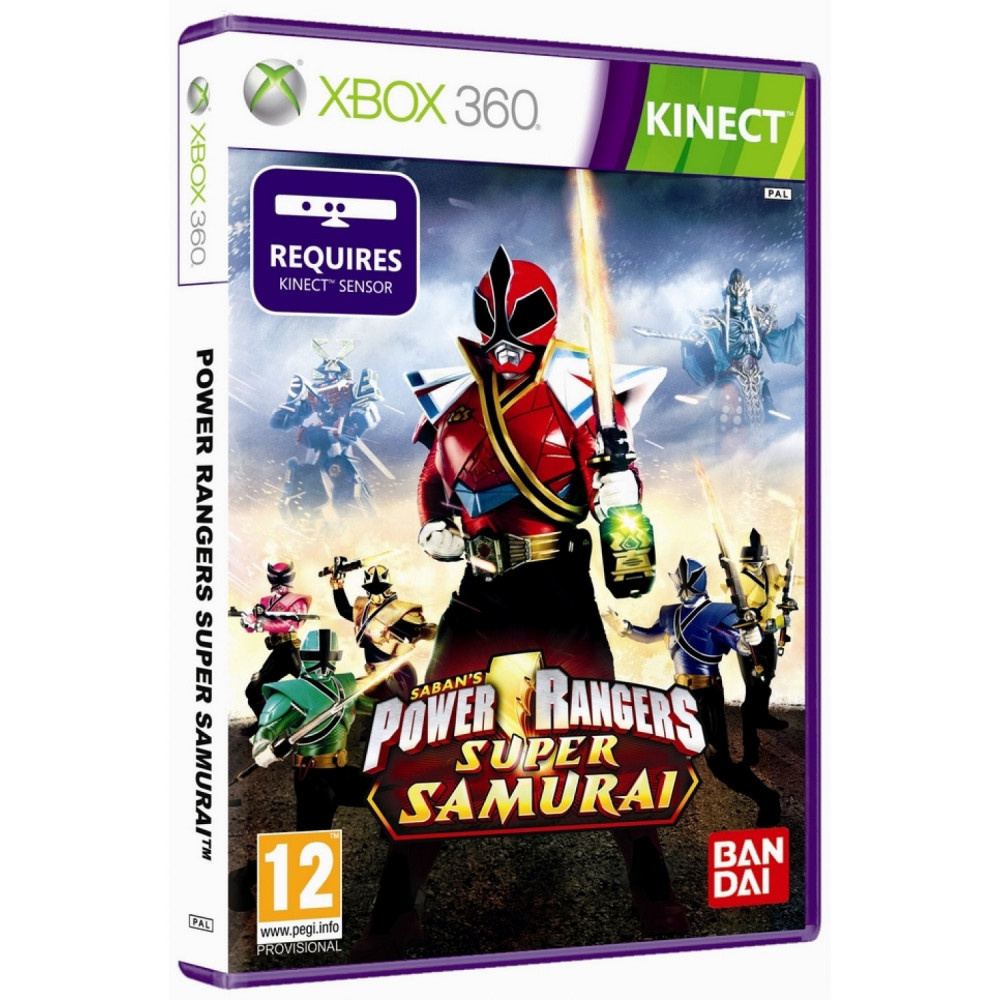 POWER RANGERS KINECT XBOX 360 PAL-FR OCCASION