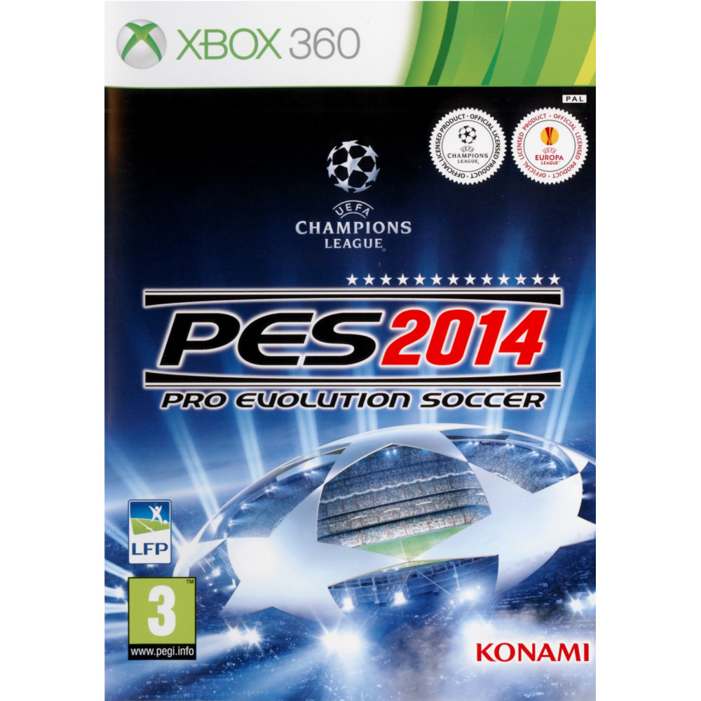 PRO EVOLUTION SOCCER 2014 XBOX 360 PAL-FR OCCASION