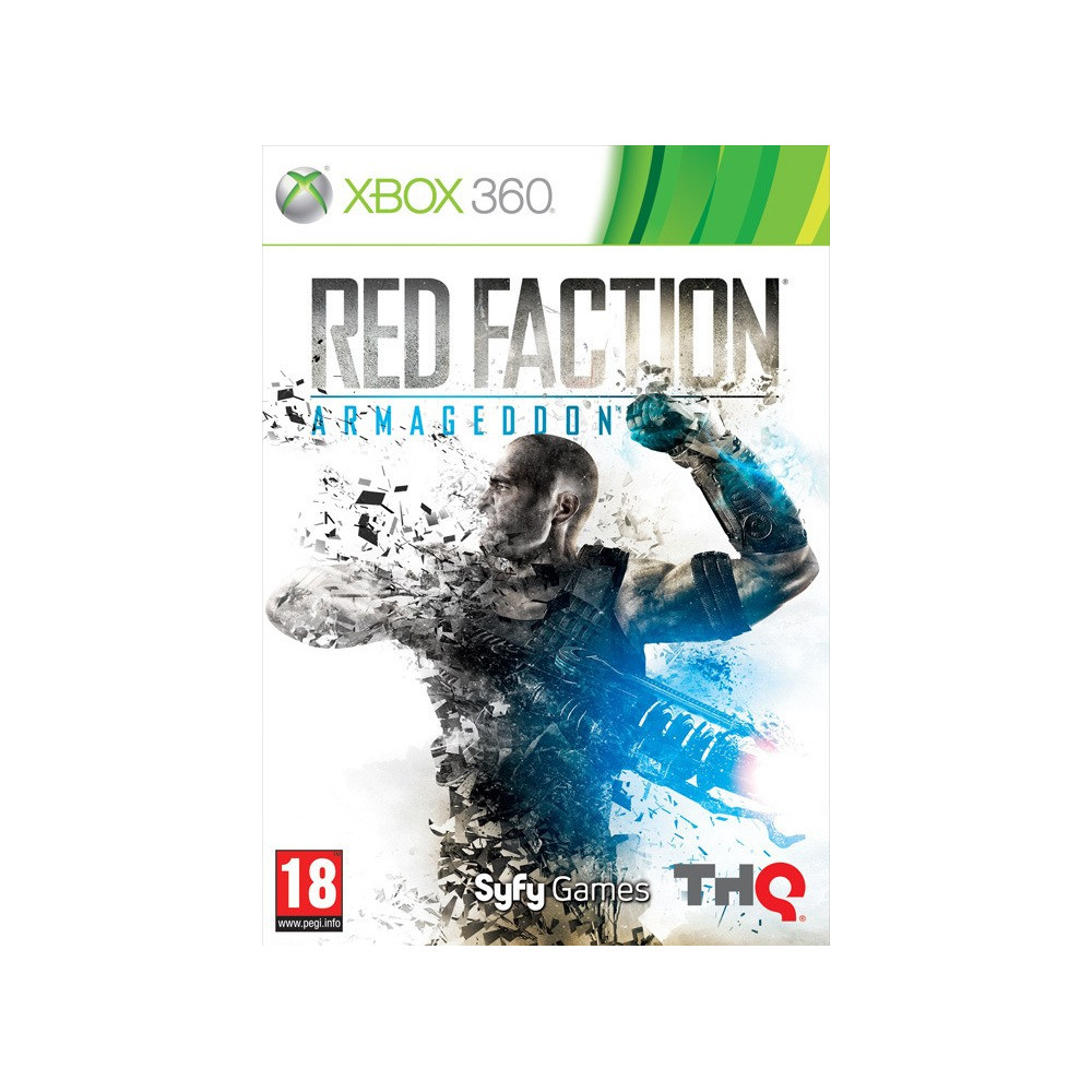 RED FACTION ARMAGEDDON XBOX 360 PAL-FR OCCASION