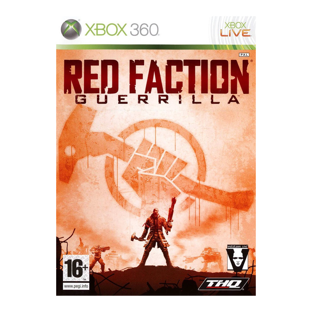RED FACTION GUERILLA XBOX 360 PAL-FR OCCASION