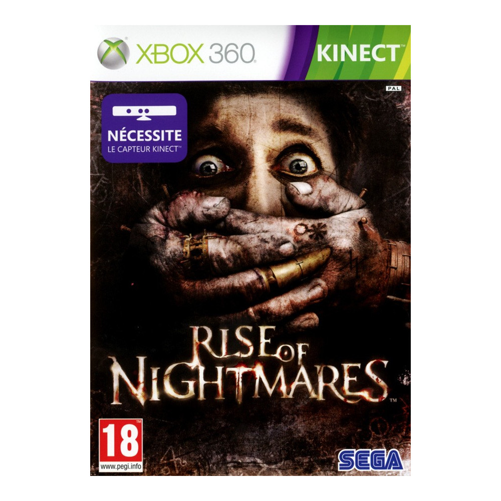 RISE OF NIGHTMARES KINECT XBOX 360 PAL-FR OCCASION
