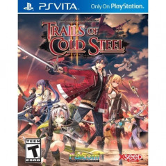 THE LEGEND OF HEROES: TRAILS OF COLD STEEL II PSVITA USA NEW