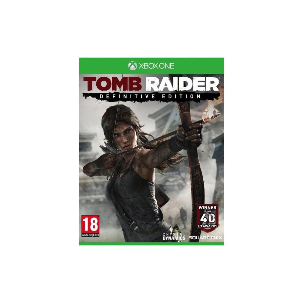 TOMB RAIDER HD EDITION XBOX ONE FR OCCASION