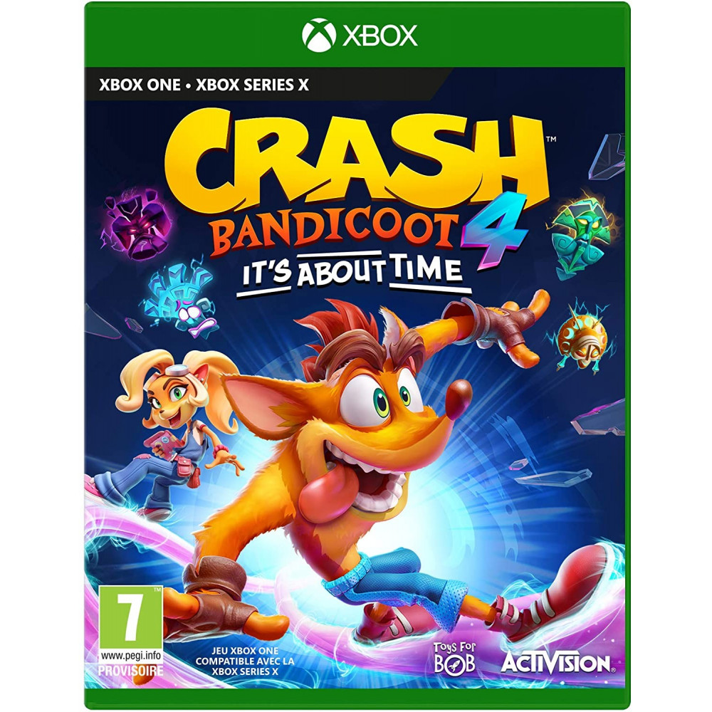 CRASH BANDICOOT 4 IT'S ABOUT TIME - XBOX ONE FR
