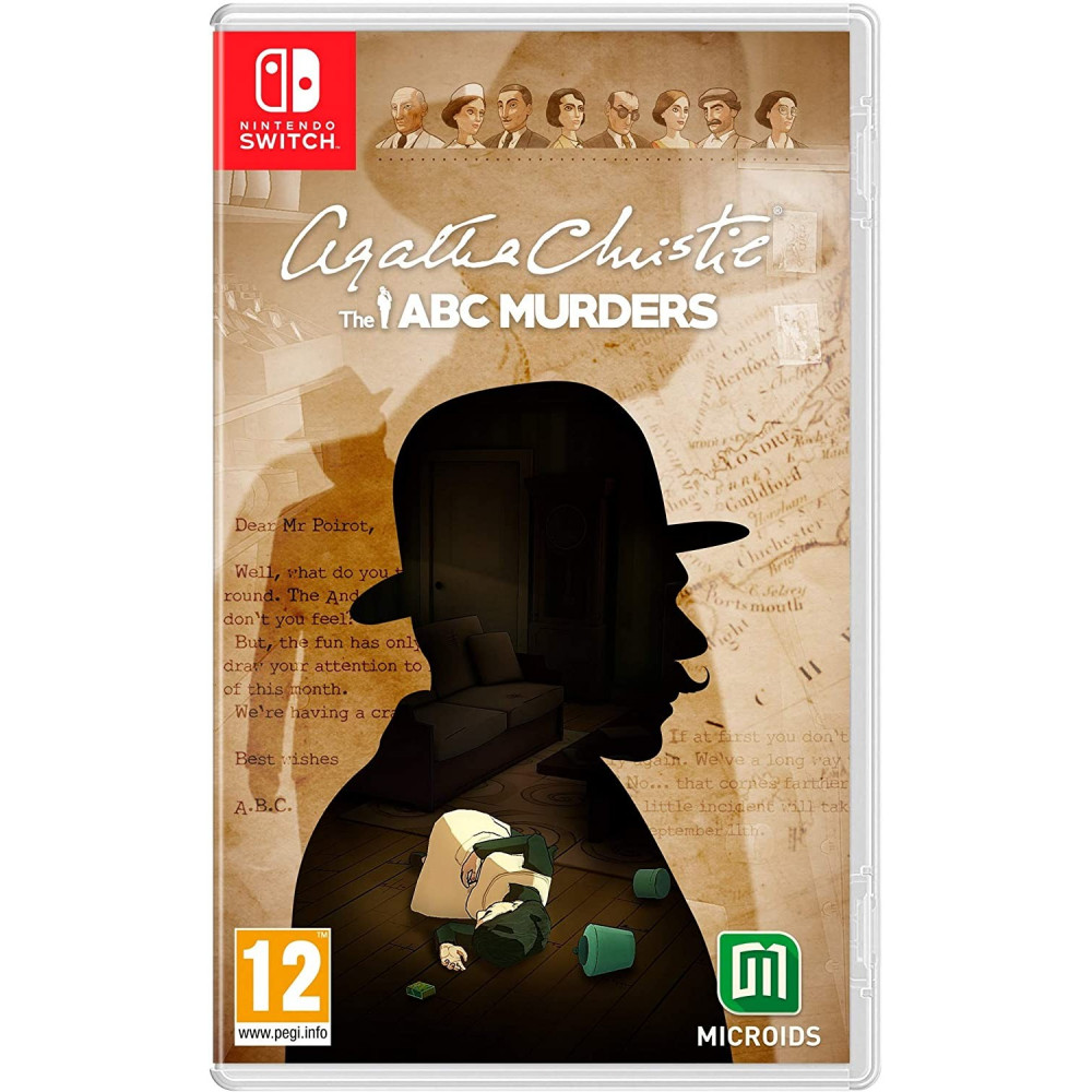 AGATHA CHRISTIE THE ABC MURDERS SWITCH FR NEW