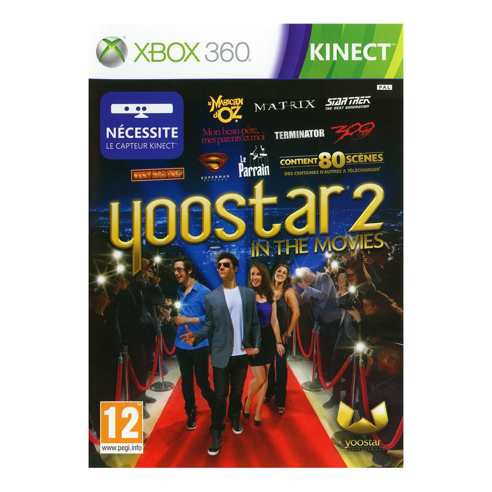 YOOSTAR 2 KINECT XBOX 360 PAL-FR OCCASION