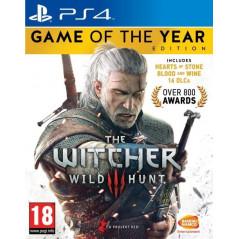 THE WITCHER 3 WILD HUNT GOTY PS4 FR NEW