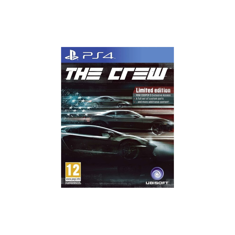 THE CREW LIMITED EDITION PS4 UK OCC