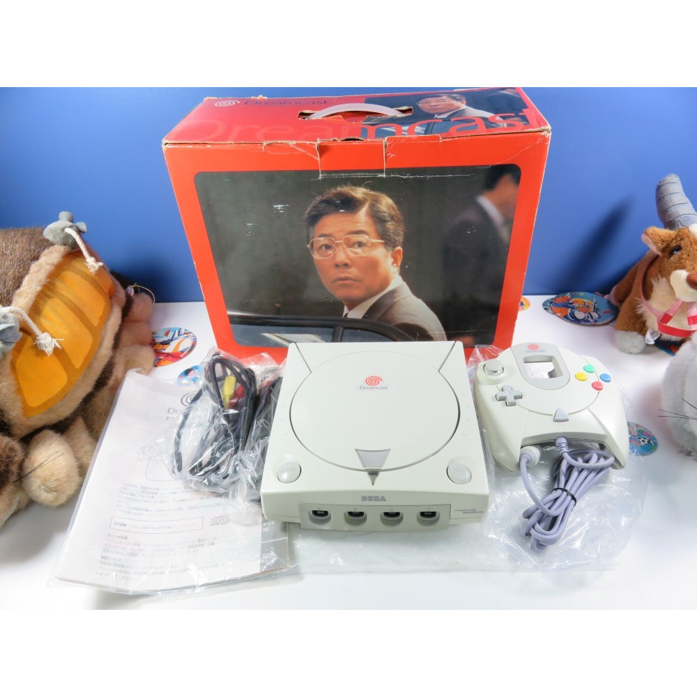 CONSOLE DREAMCAST NTSC-JAPAN (GOOD CONDITION-FULLY WORKING) SEGA HKT-3000