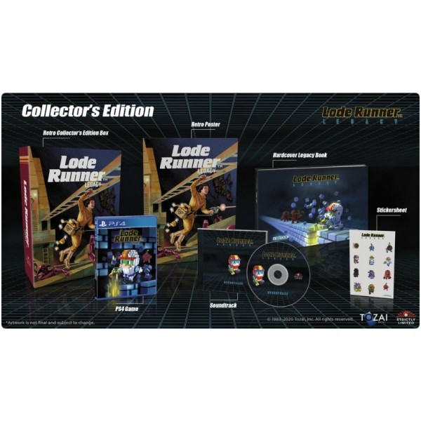 LODE RUNNER LEGACY COLLECTOR PS4 EURO NEW