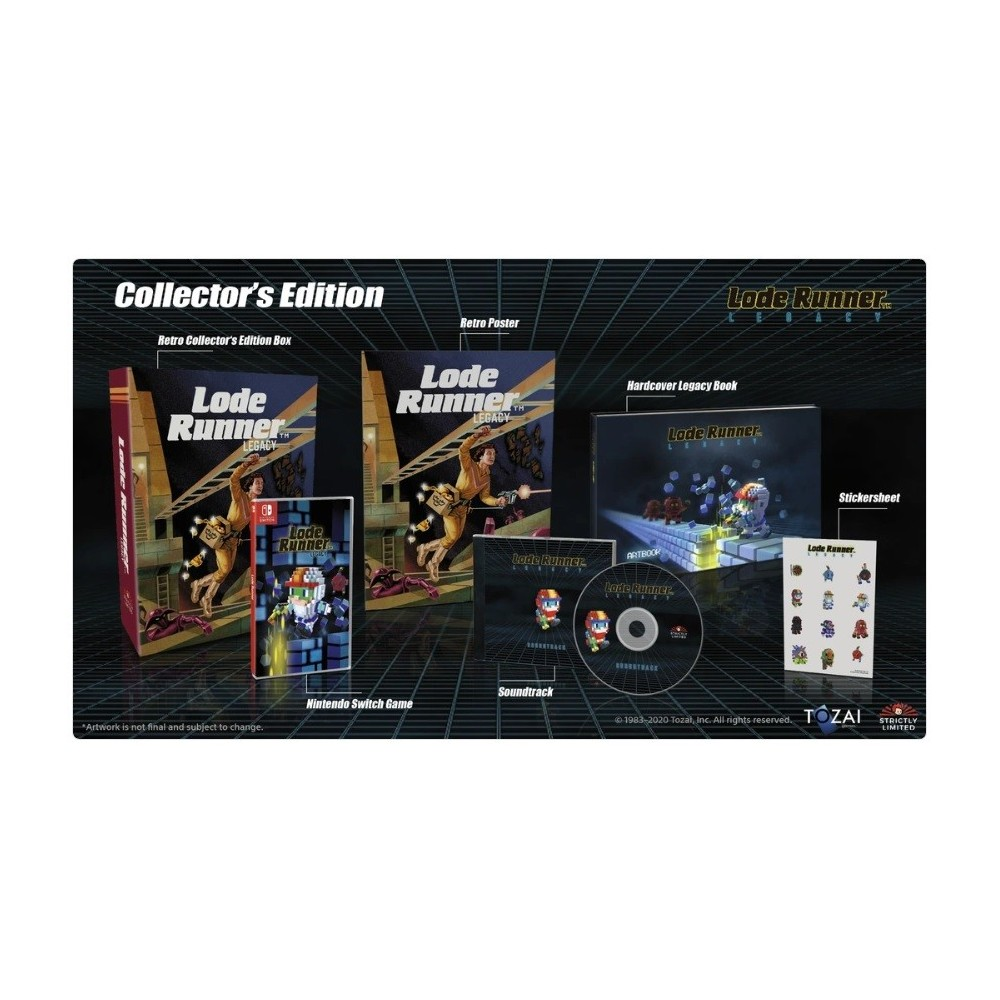LODE RUNNER LEGACY COLLECTOR SWITCH EURO NEW