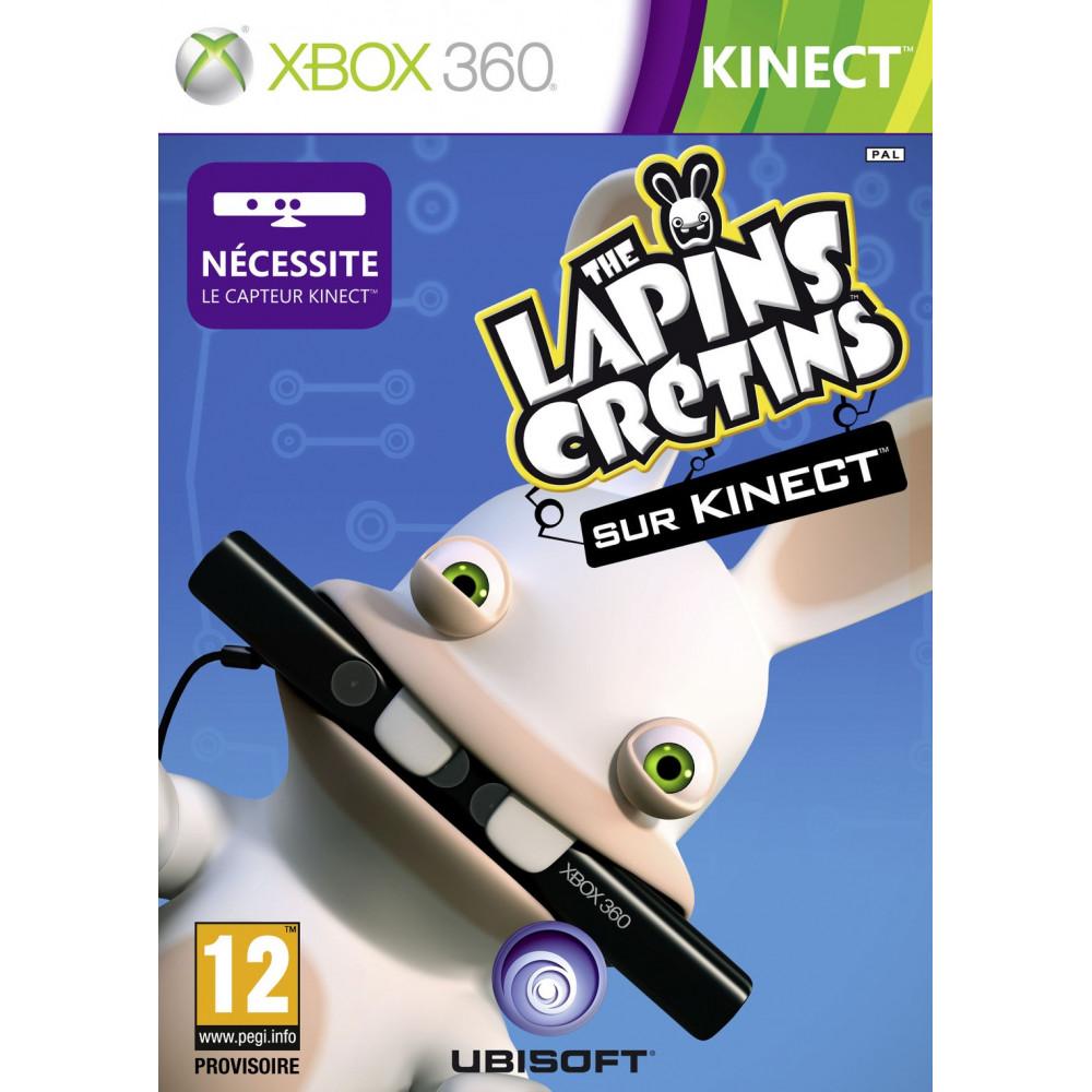 THE LAPINS CRETINS PARTENT EN LIVE XBOX 360 PAL-FR OCCASION