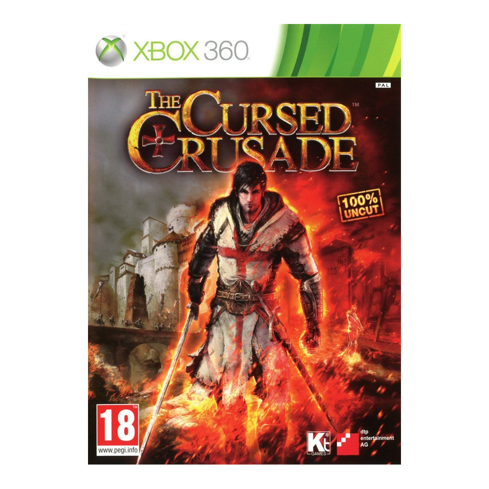THE CURSED CRUSADE XBOX 360 PAL-FR OCCASION