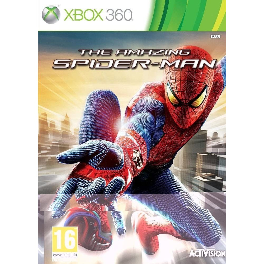THE AMAZING SPIDER-MAN XBOX 360 PAL-FR OCCASION