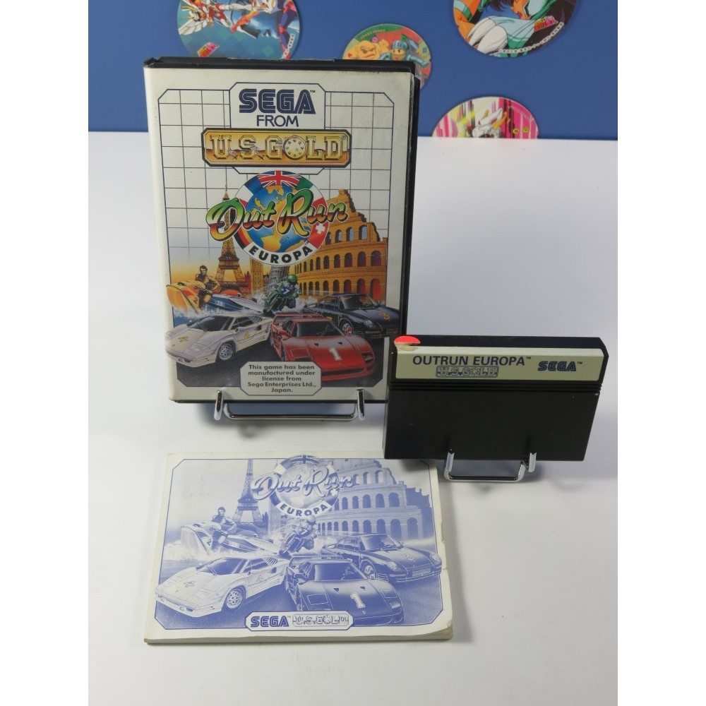OUTRUN EUROPA SEGA MASTER SYSTEM PAL-EURO (COMPLET - GOOD CONDITION)