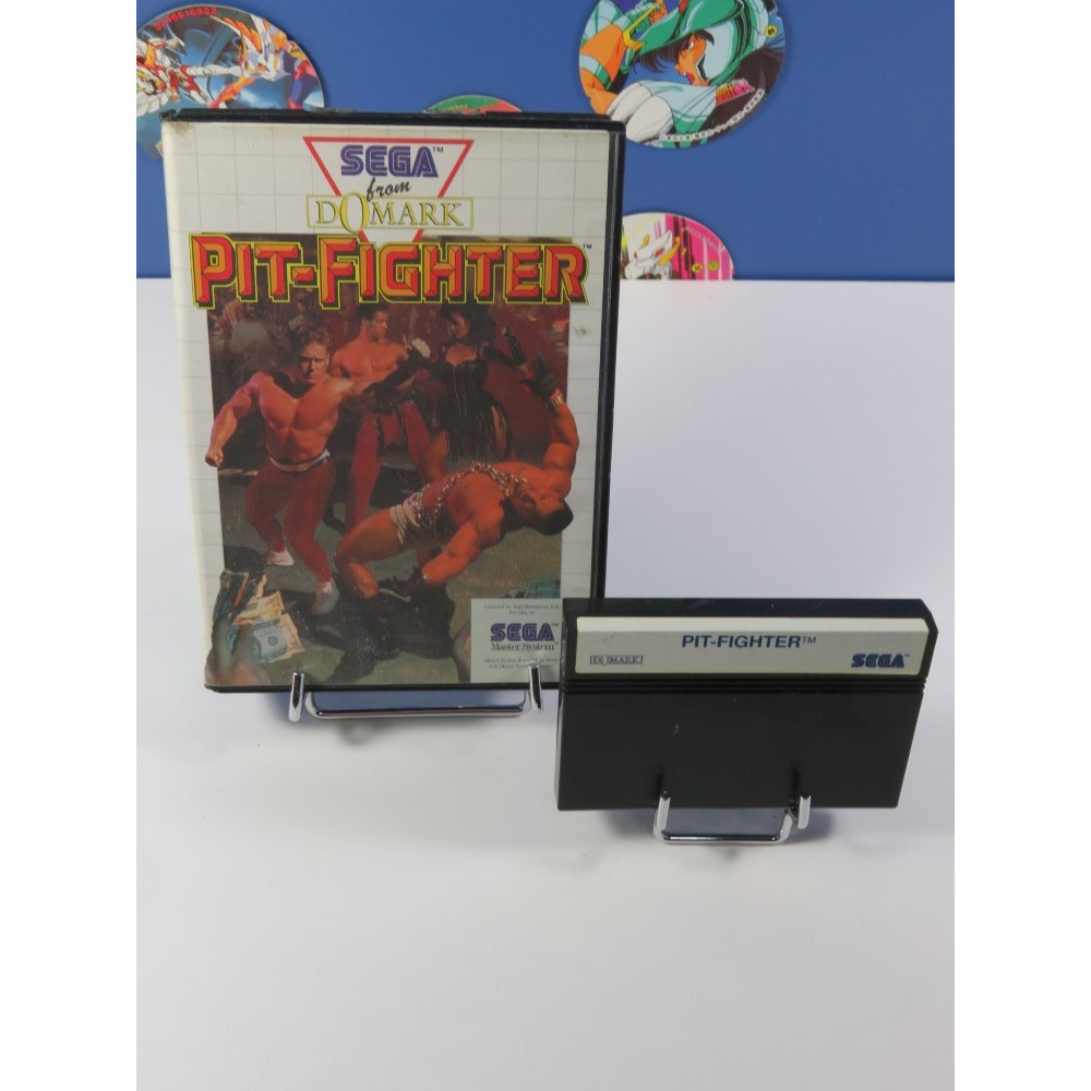 PIT-FIGHTER SEGA MASTER SYSTEM PAL-EURO (SANS NOTICE - GOOD CONDITION OVERALL)