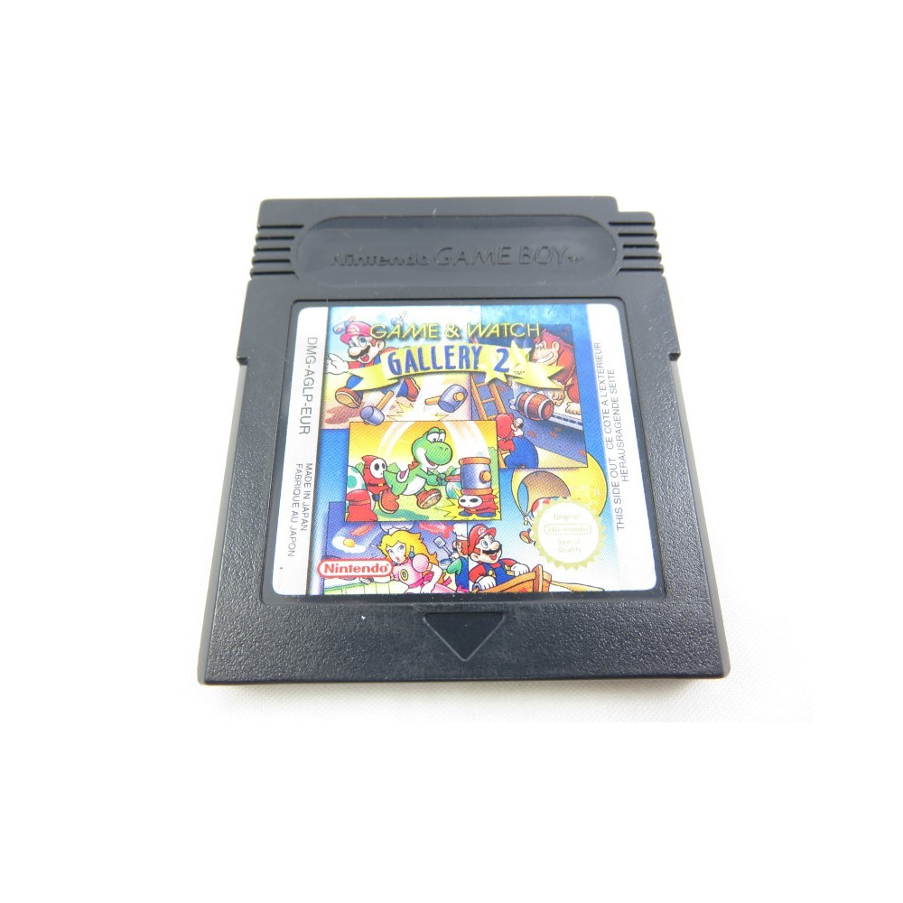 GAME & WATCH GALLERY 2 GAMEBOY COLOR EUR LOOSE