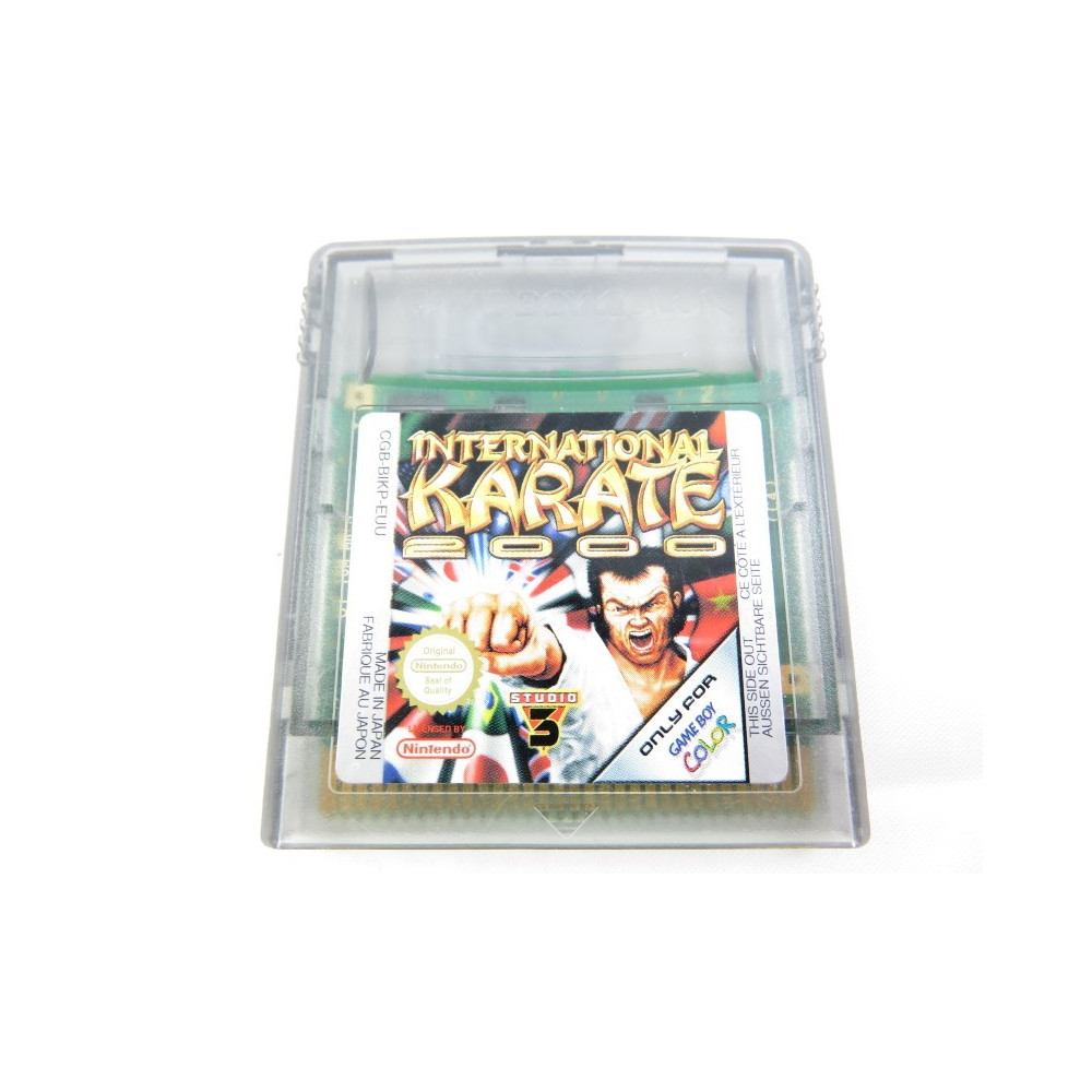 INTERNATIONAL KARATE 2000 GAMEBOY COLOR EUU LOOSE