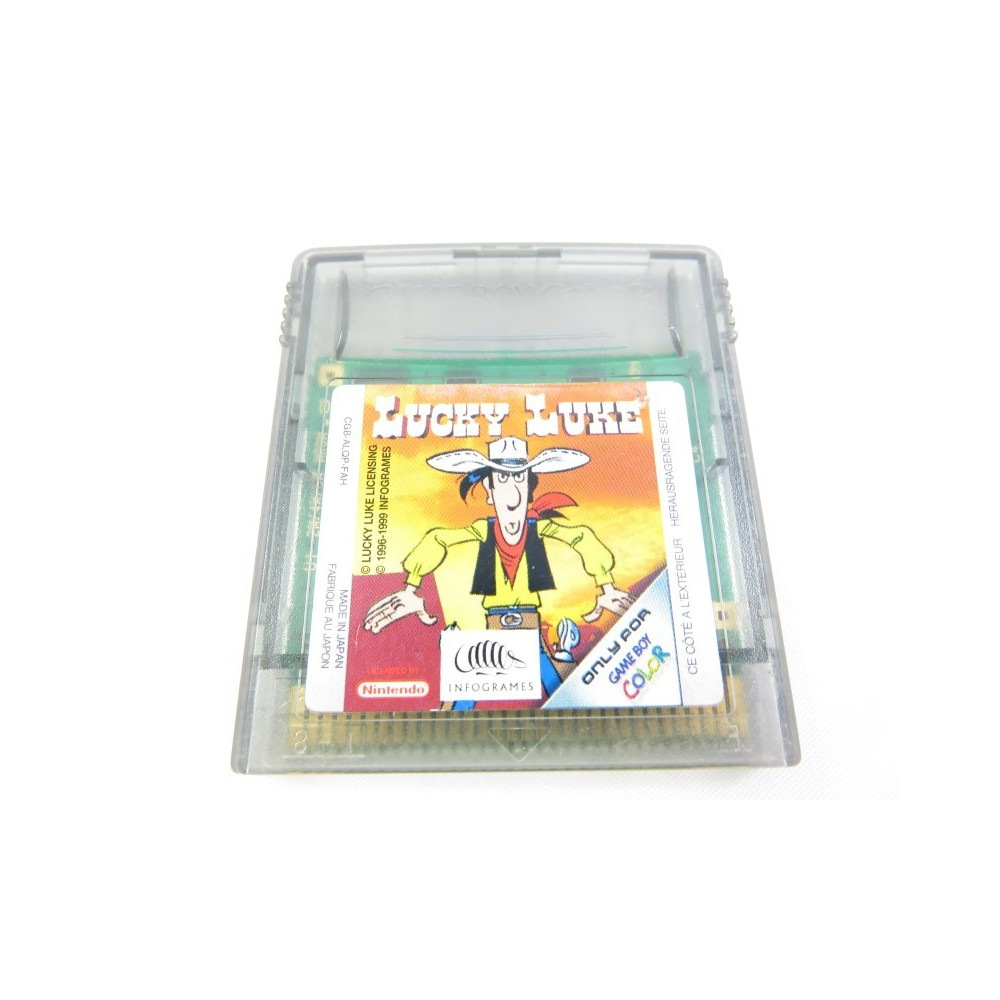 LUCKY LUKE GAMEBOY COLOR FAH LOOSE